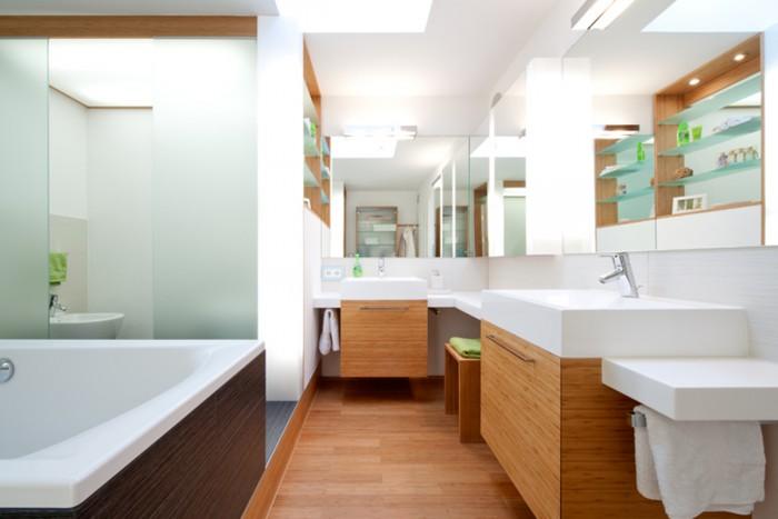 Badezimmermöbel aus Holz von Bühler - Holz und Handwerk